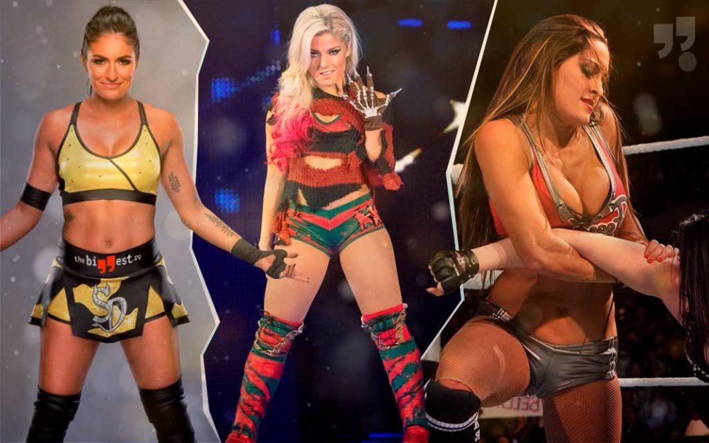 Самые красивые дивы WWE