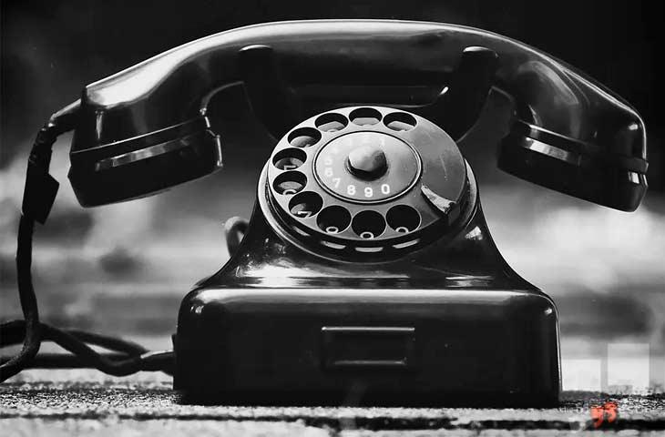 Стационарный телефон. CC0