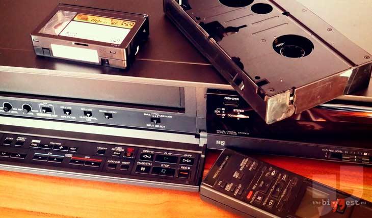 Видеокассеты и видеомагнитофоны. CC0