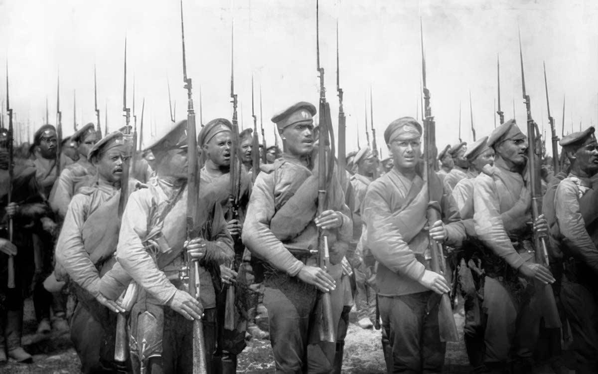 Подвиги русских солдат во время Первой мировой. CC0