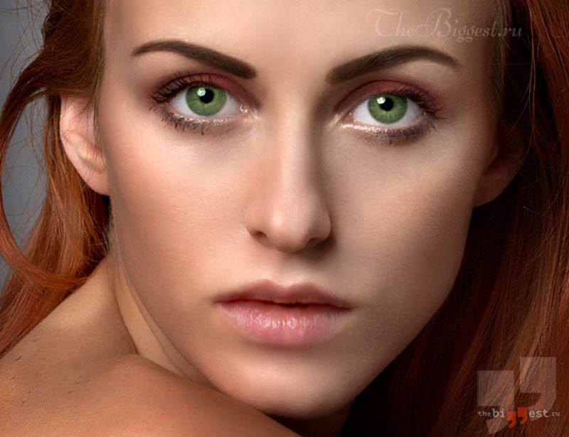 Зелёный цвет глаз. CC0