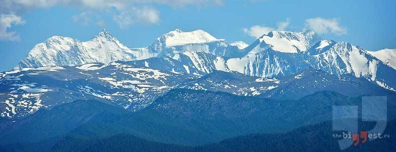 Самые высокие горы Сибири: Белуха