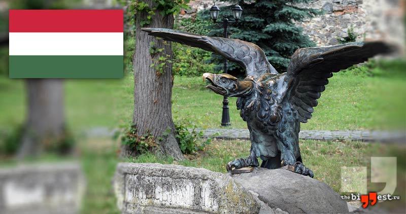 Статуя турула в Будапеште. CC0