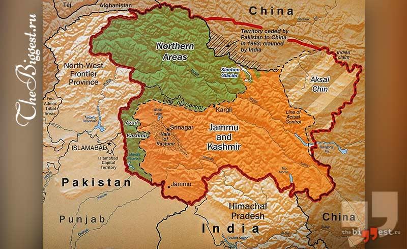 Индо-китайские столкновения cc0