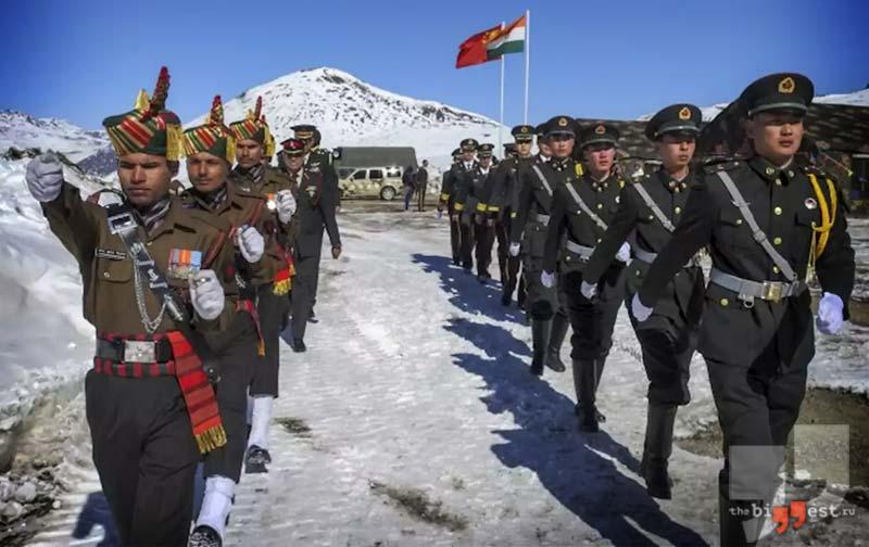 Индия — Китай