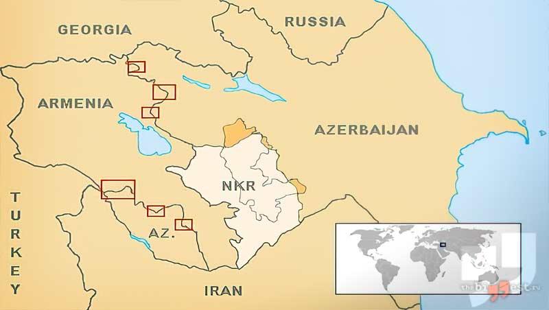 Армяно-азербайджанское столкновение сс0