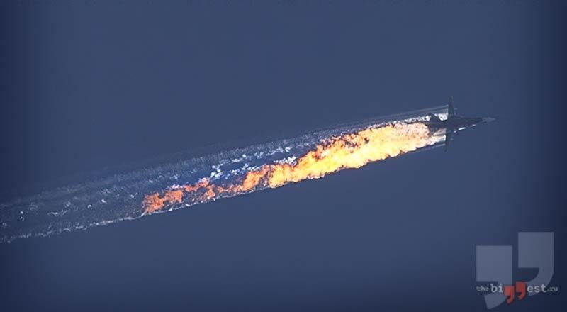 Сбитый Су-24 cc0