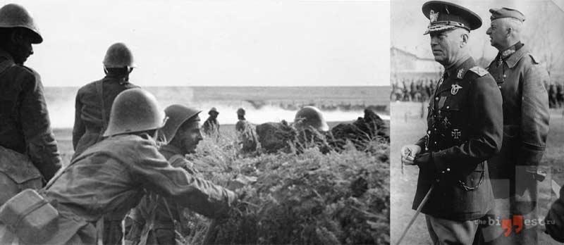 Румынские солдаты на юге России